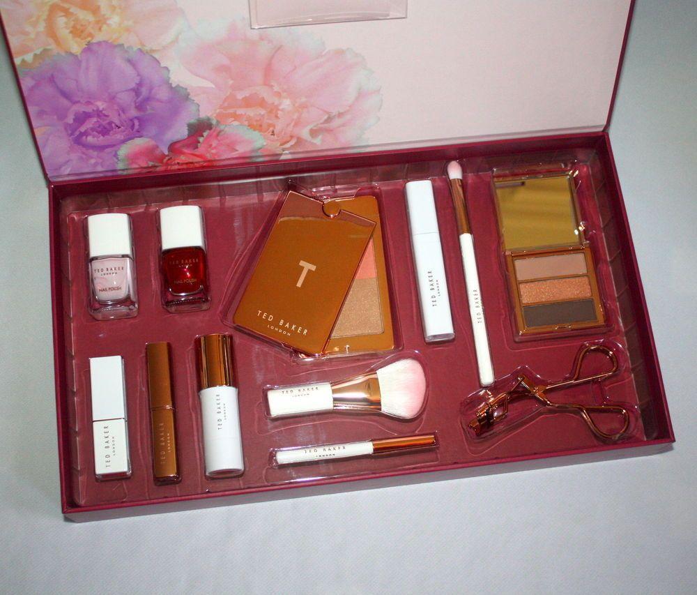 Ted Baker Treasure Trove Large Makeup Beauty Box Set Brand