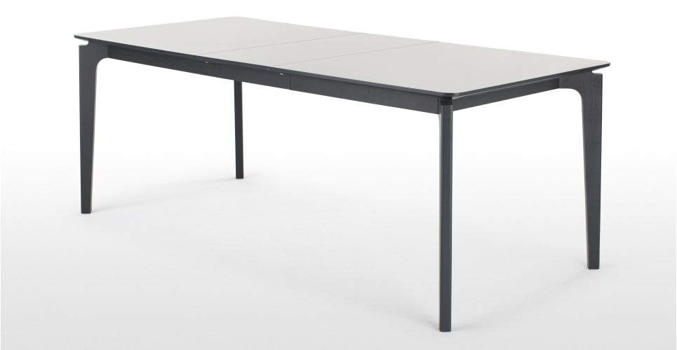 Buren Extending Dining Table HPL And Ash From Madecom Light Wood - Light wood extending dining table