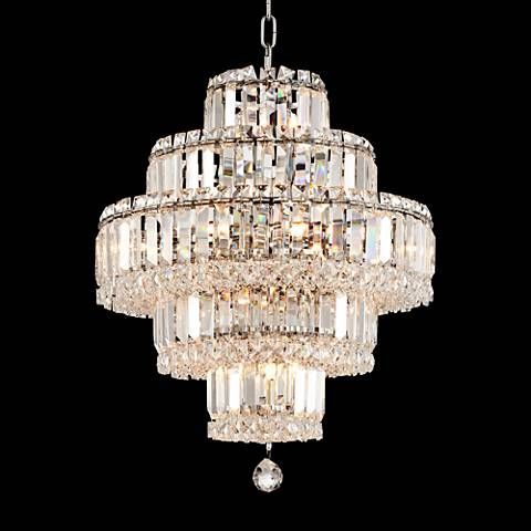 Talitha 18 12 wide chrome 18 light crystal chandelier style talitha 18 12 wide chrome 18 light crystal chandelier 1g888 mozeypictures Gallery