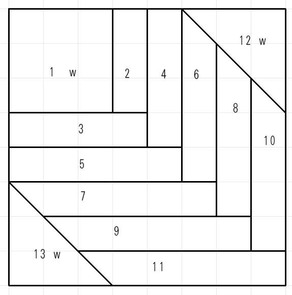 Patchworken für Anfänger: Blockhausmuster-Variationen » BERNINA Blog