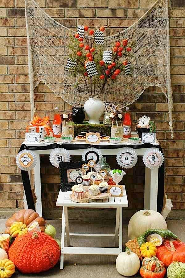 IDEAS  INSPIRATIONS Halloween Decorations - Halloween Decorating - halloween party centerpieces ideas