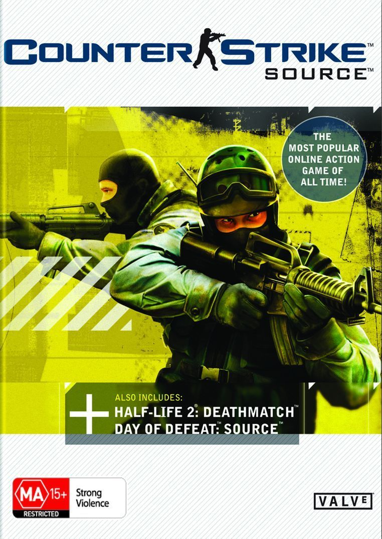 Free Download Pc Game CounterStrike Source v1.0.0.70 (PC