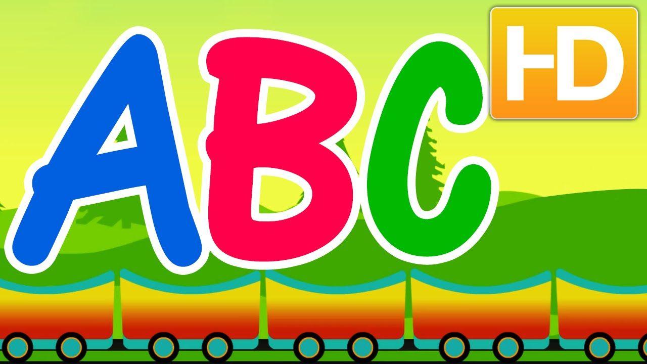 Abc Train Song Cartoon Rhymes Abc Nursery Rhymes For Children Kids Nursery Rhymes Abc Nursery Rhymes Training Songs