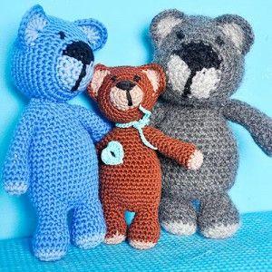 Crochet Pattern Super Easy Teddybear Elizzza Happy Again