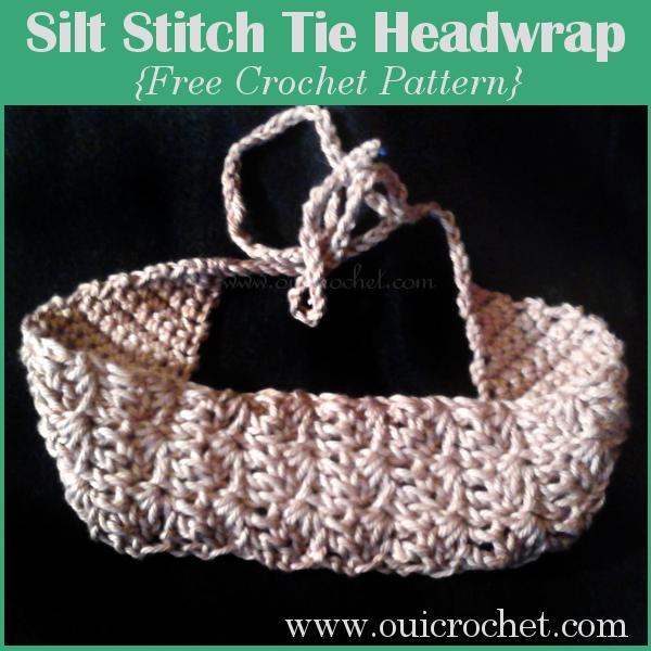 Oui crochet silt stitch tie headwrap free crochet pattern oui crochet silt stitch tie headwrap free crochet pattern dt1010fo