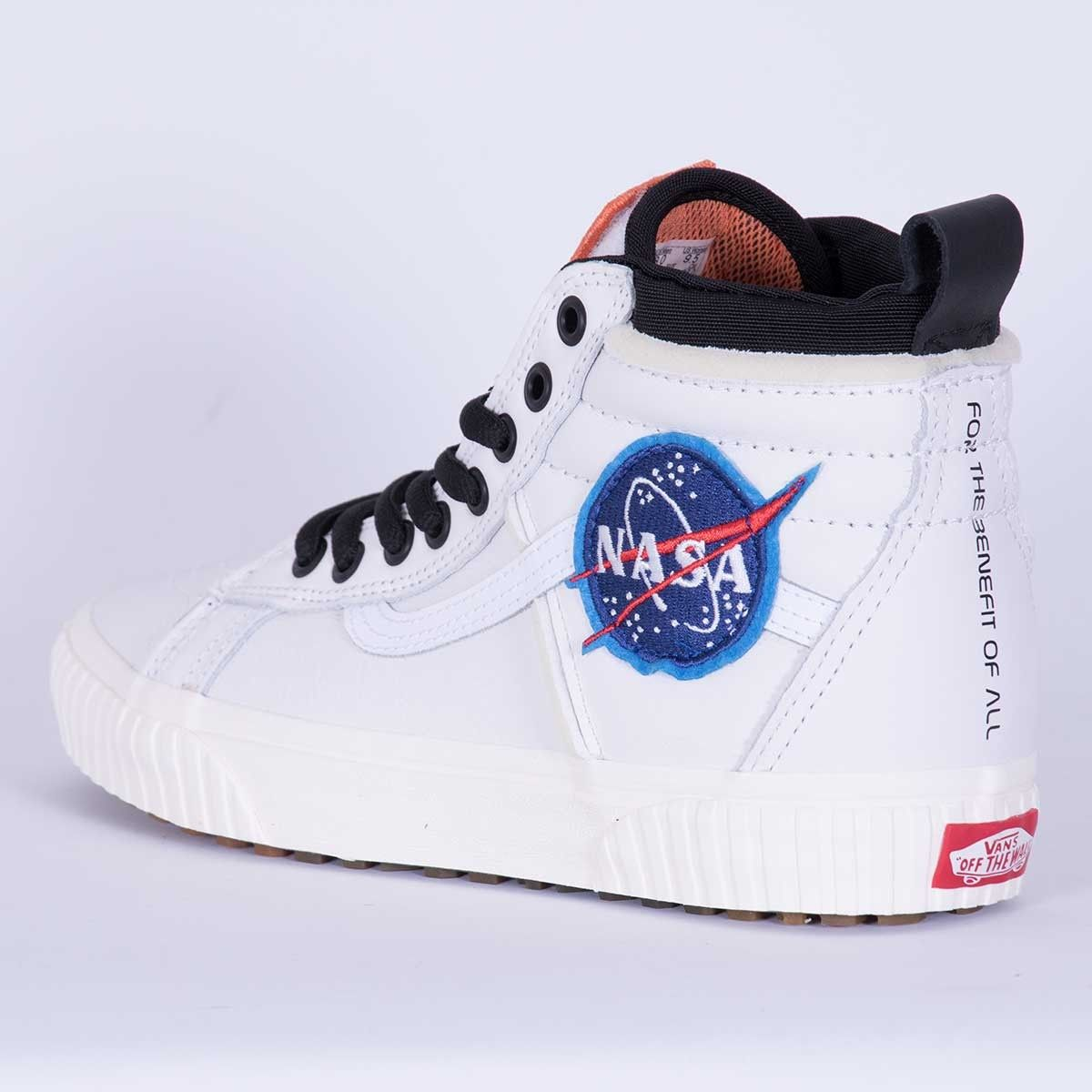 Vans x NASA - Sk8-Hi 46 MTE DX Space Voyager True White #sneakers ...