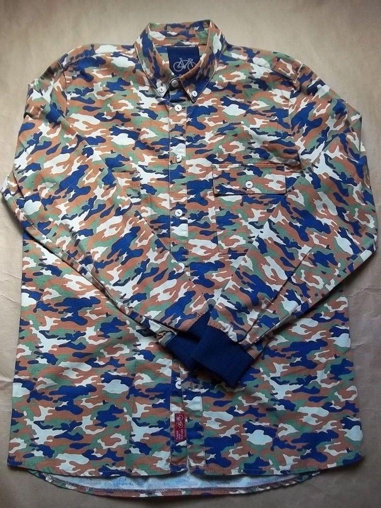 f67d39db3 Chemise homme Rascals BD shirt in camo size L biking | Sales on Ebay ...