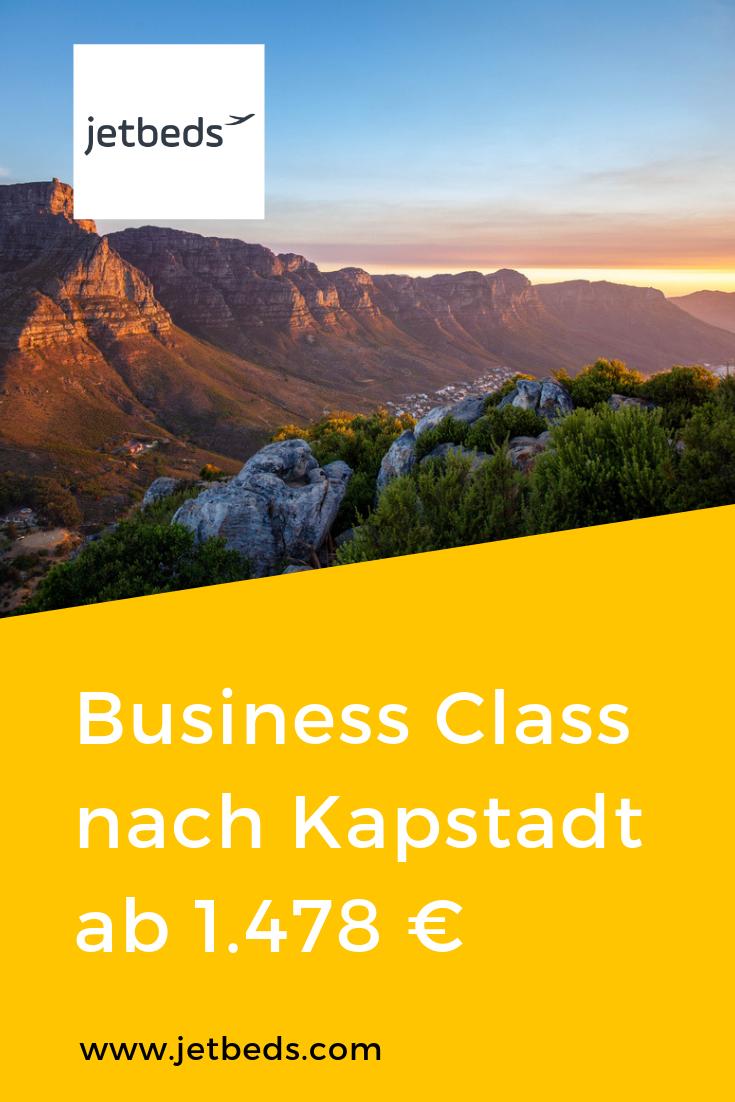 Qatar Airways Business Class nach Kapstadt ab 1.478