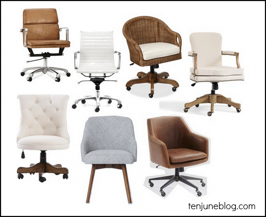 Farmhouse Desk Chair - Ideas to Decorate Desk