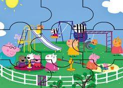 Juegosdepeppa Com Juego Rompecabezas Parque De Juegos Puzzles De Dibujos Online Juegos Peppa Gratis Juegos De Peppa Rompecabezas Rompecabezas Para Imprimir