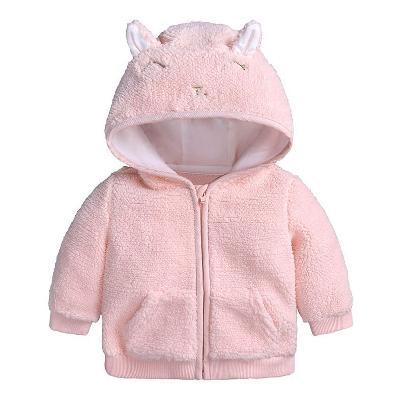 227141d7c4e Baby snowsuit baby boy girl clothes winter infant coat hoodies with cartoon  letter cat ears newborn