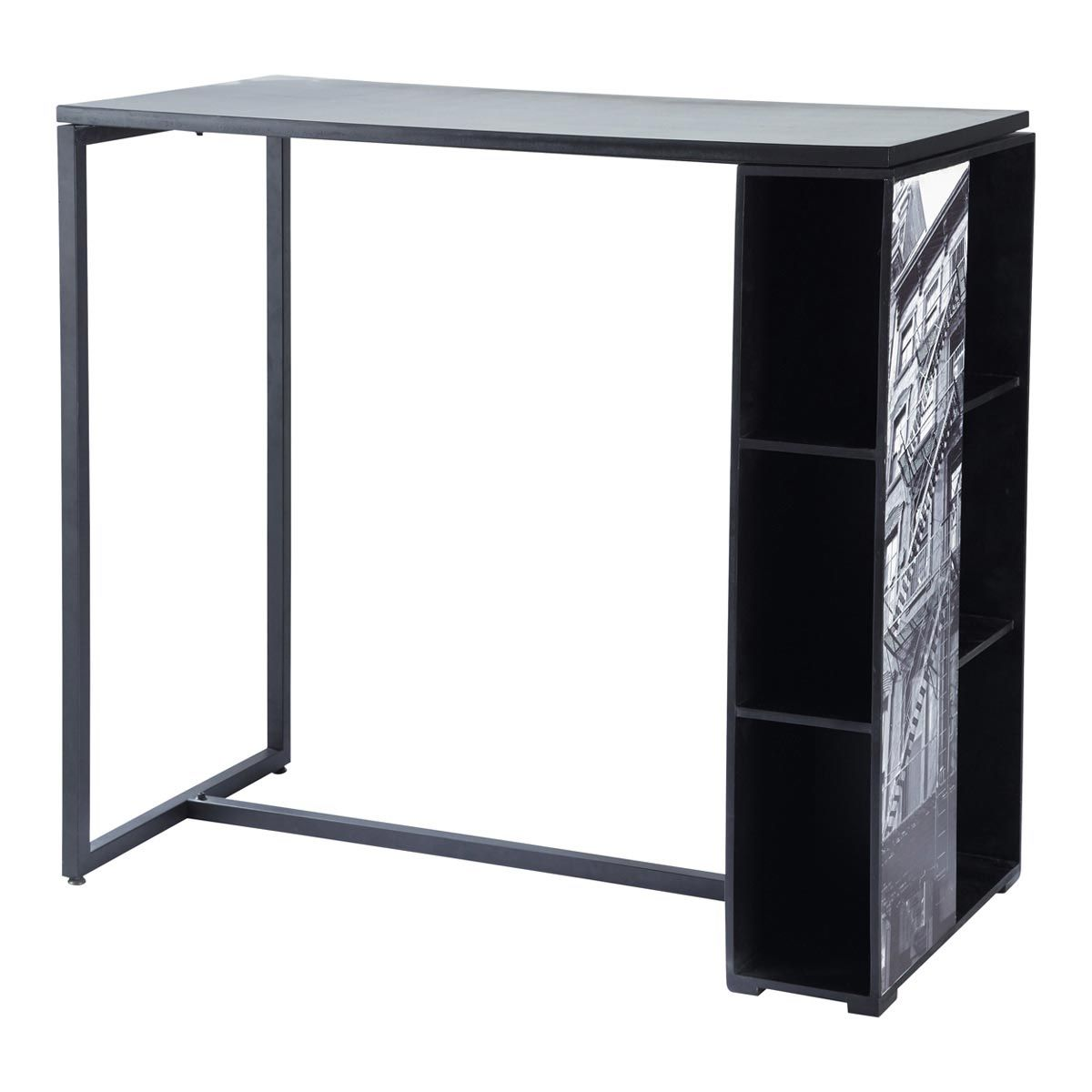 Table Bistrot Inox Ikea Table De Cuisine Haute Noire Highway Table Que Je