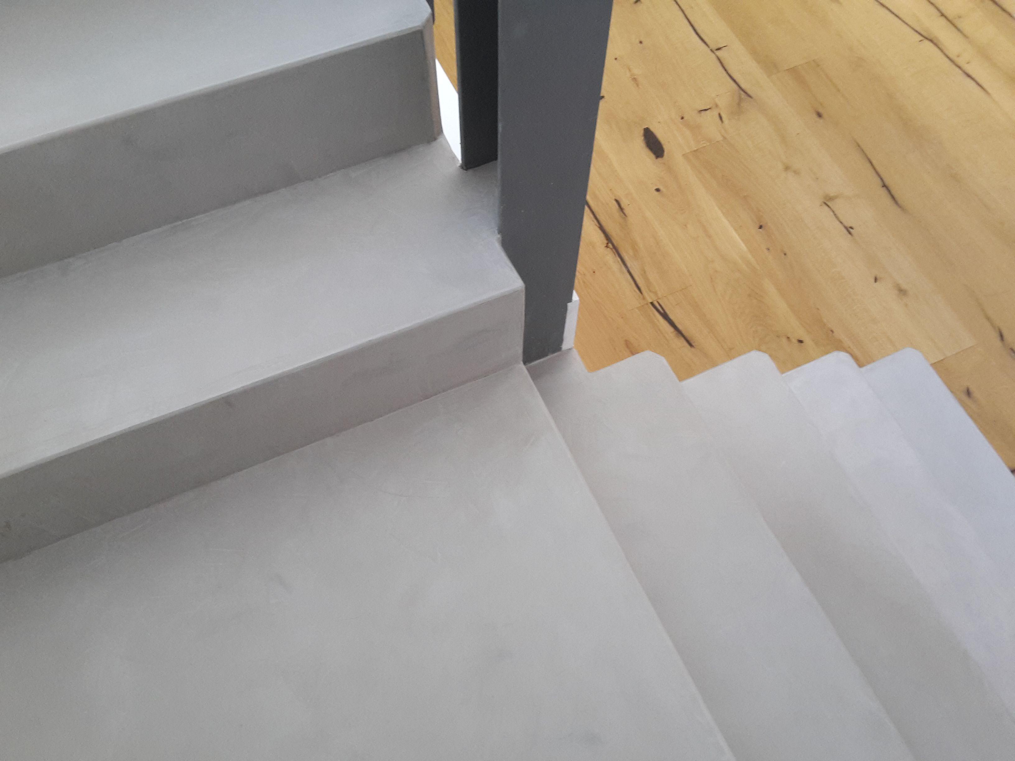 Captivating Fugenlose Treppen Beschichtung. Treppenbelag Fugenlos.