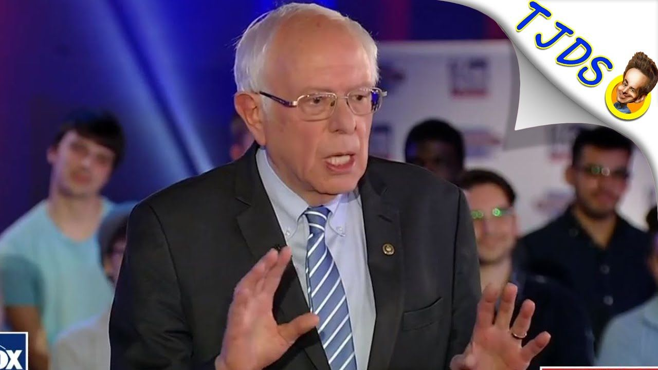 Bernie Asked About Biden S Dementia At Town Hall In 2020 Jimmy Dore Stand Up Comedians Comedians