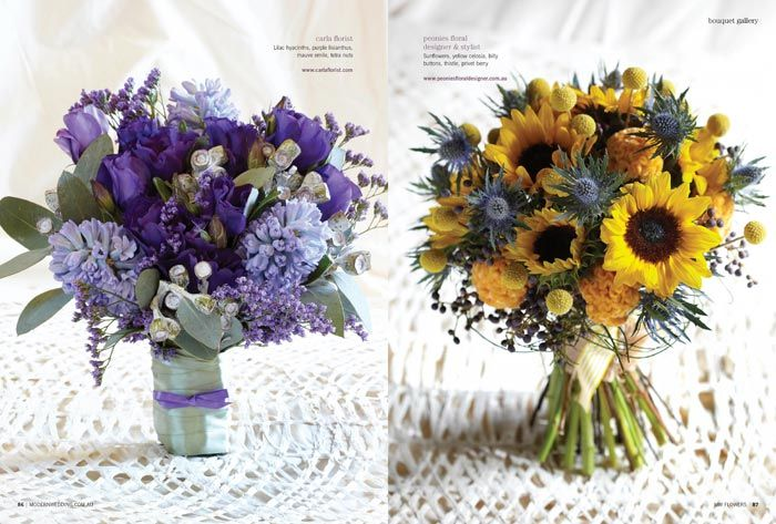 NEW Modern Wedding Flowers Magazine – ON SALE