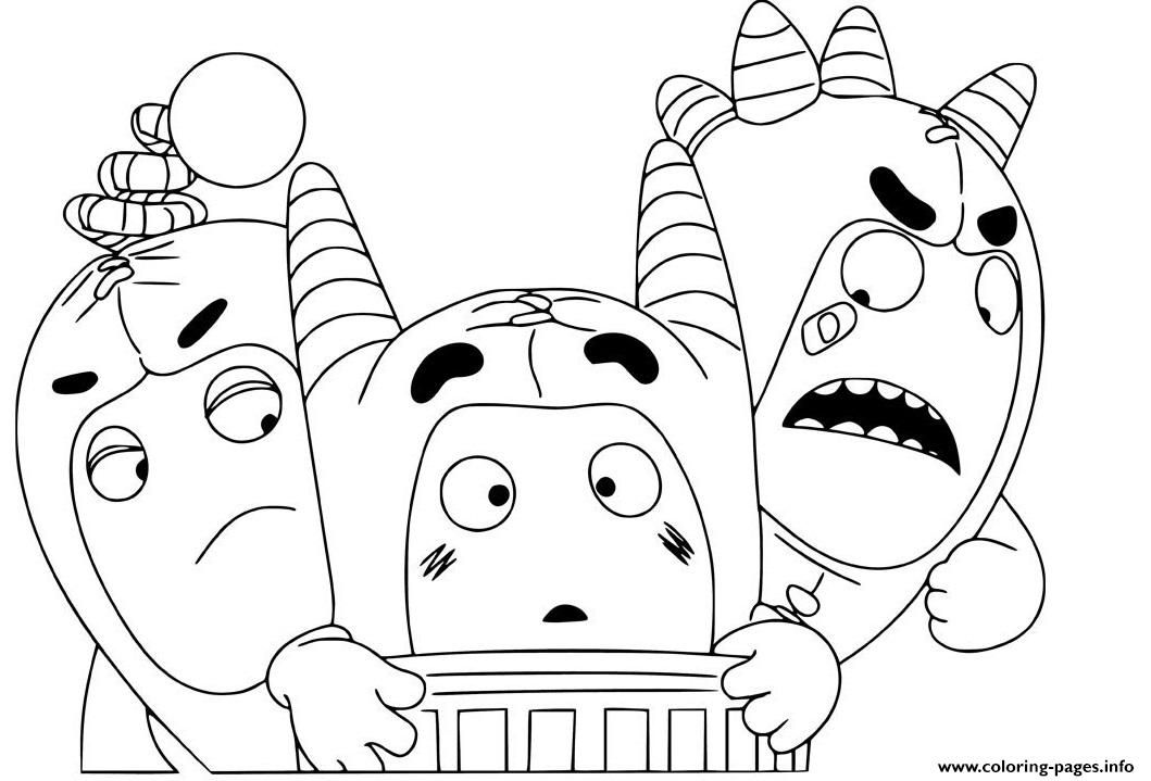 Print Cute Oddbods Coloring Pages Spider Coloring Page Coloring Pages Kids Coloring Books