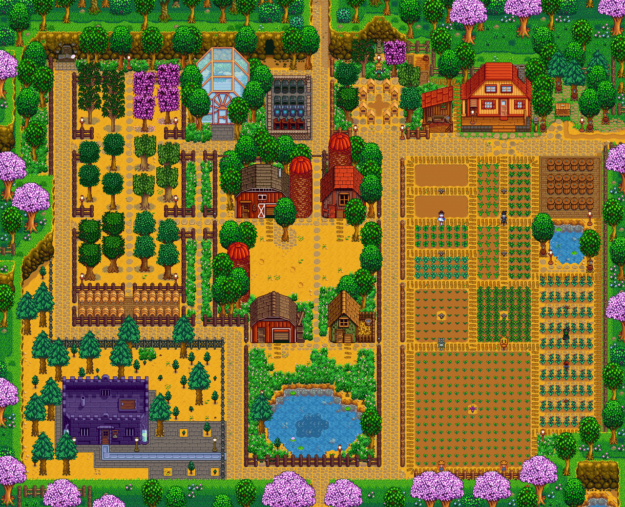 Stardew Farm Stardew Valley Stardew Valley Layout Stardew Valley Farms