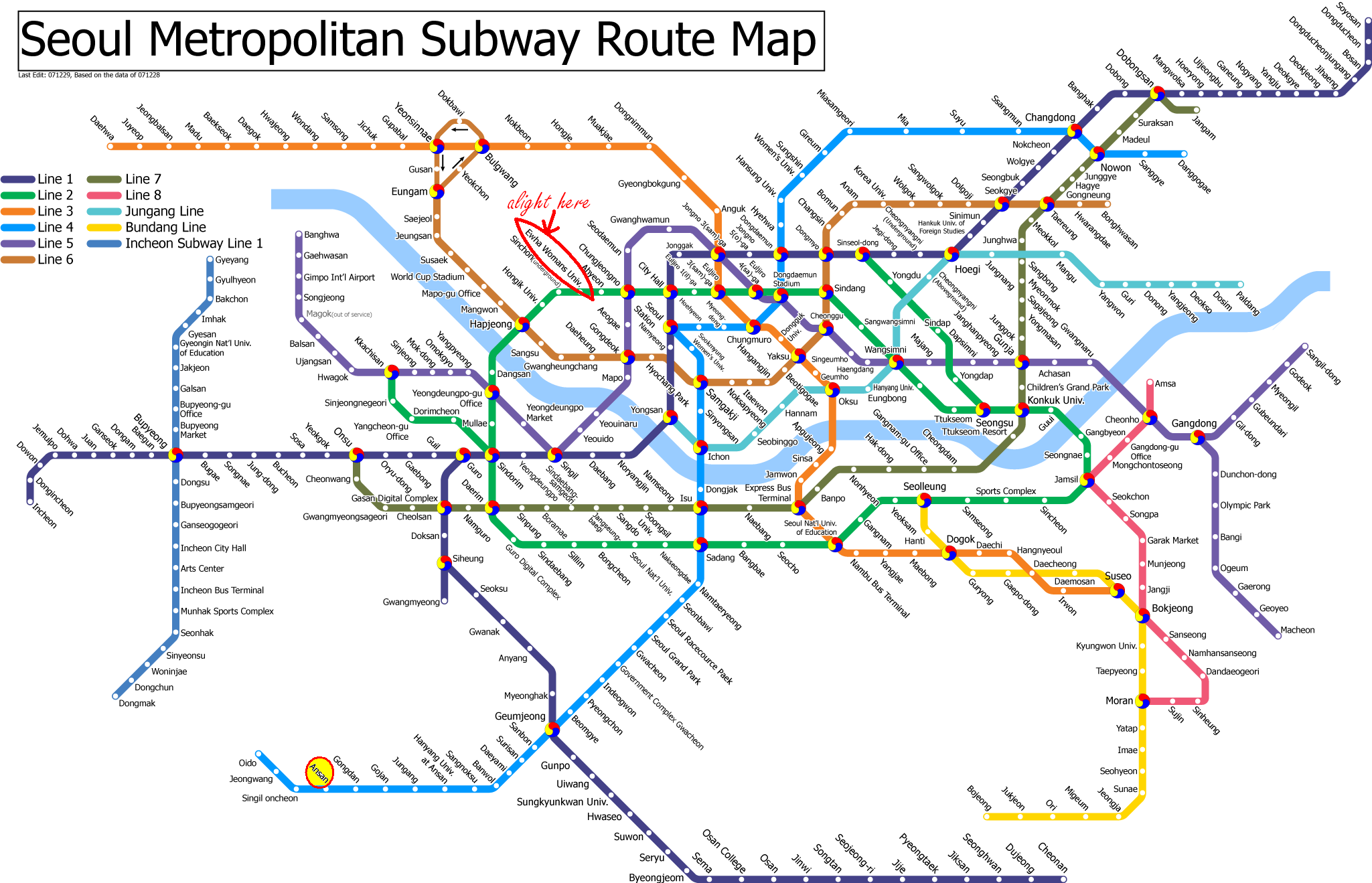 Travel: A Guide to Shopping in Seoul | Korea | Seoul, Subway map