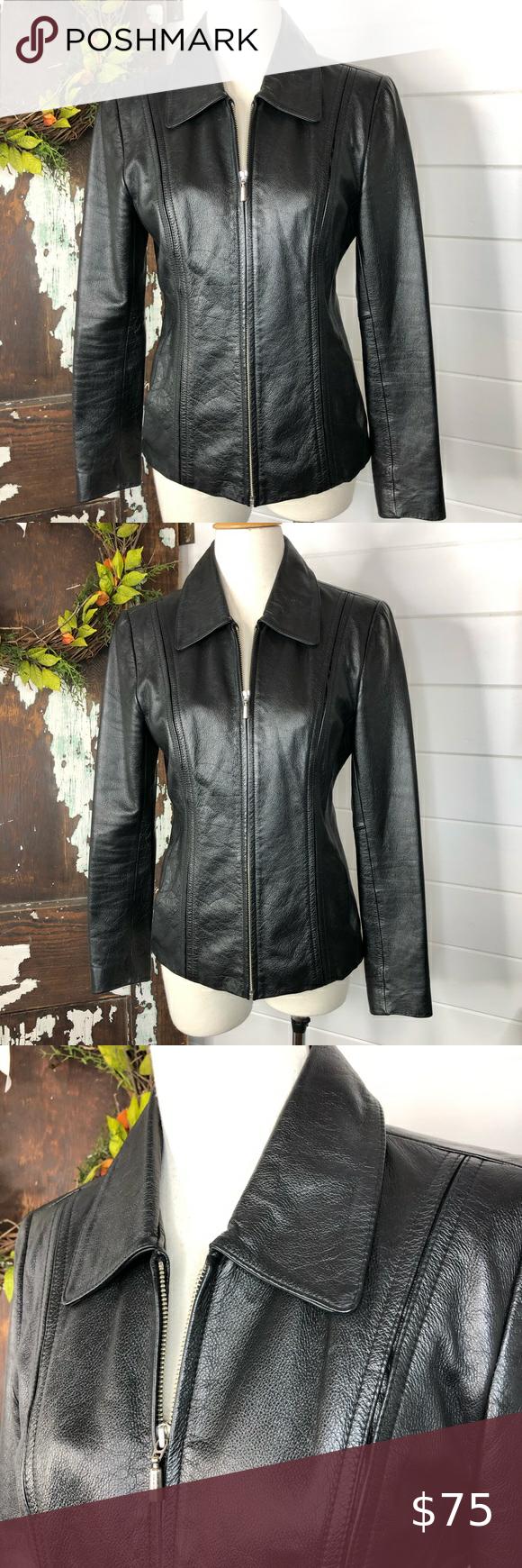 Jones New York Leather Jacket Leather Jacket White Leather Jacket Womens Black Leather Jacket [ 1740 x 580 Pixel ]