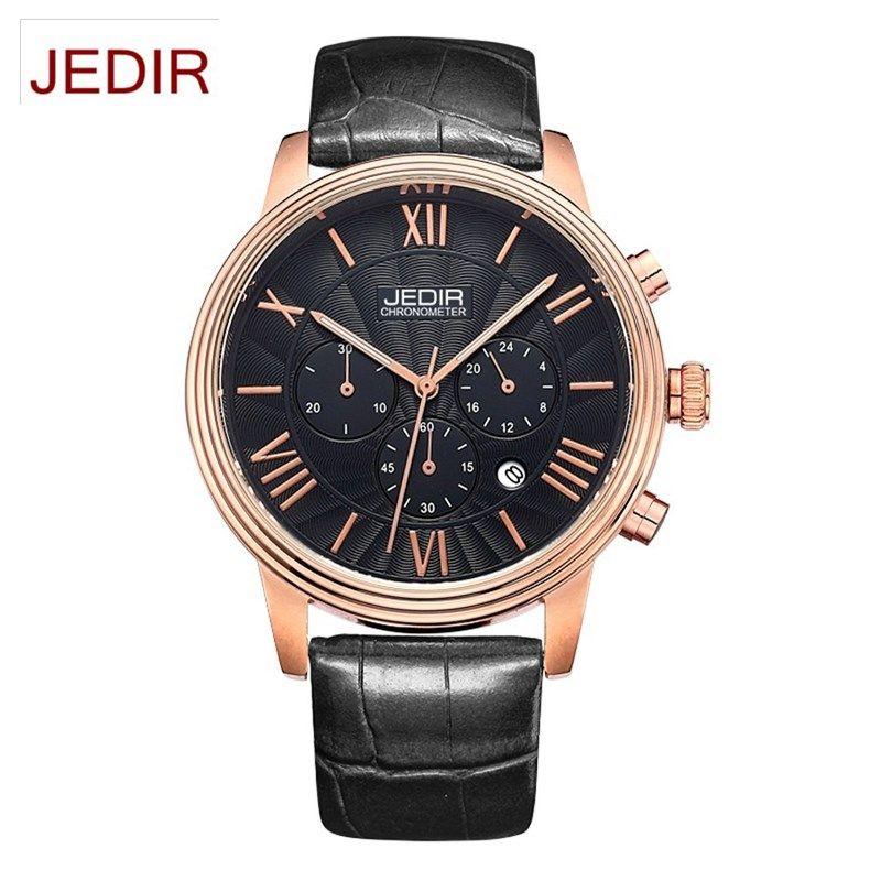 $39.89 (Buy here: https://alitems.com/g/1e8d114494ebda23ff8b16525dc3e8/?i=5&ulp=https%3A%2F%2Fwww.aliexpress.com%2Fitem%2FJEDIR-Germany-watches-men-luxury-brand-ultra-thin-Japan-import-quartz-couple-watches-belt-female-lover%2F32668138610.html ) JEDIR Germany watches men luxury brand ultra-thin Japan import quartz couple watches belt female lover black relogio feminino for just $39.89