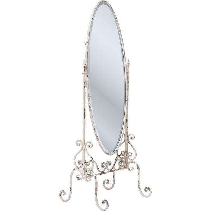 Standing Mirror Romantico White - KARE Design