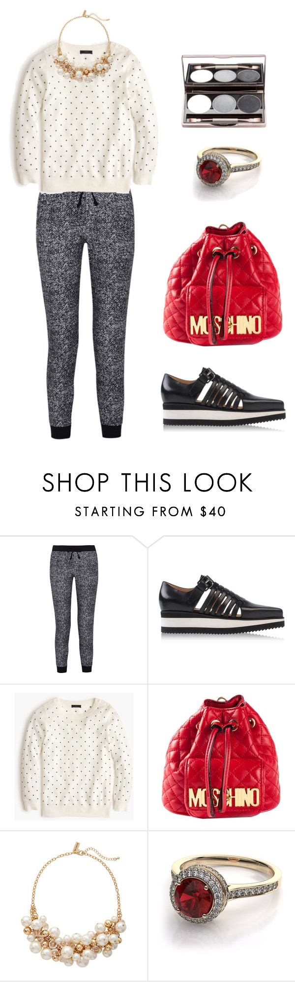 """""""Sin título #420"""" by crystalhaze08 ❤ liked on Polyvore featuring Splendid, Barbara Bui, J.Crew, Moschino and The Limited"""