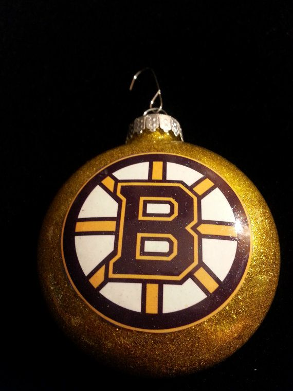 Boston Bruins inspired Christmas Ornament by SellingThistoBuyThat - Boston Bruins Inspired Christmas Ornament By SellingThistoBuyThat