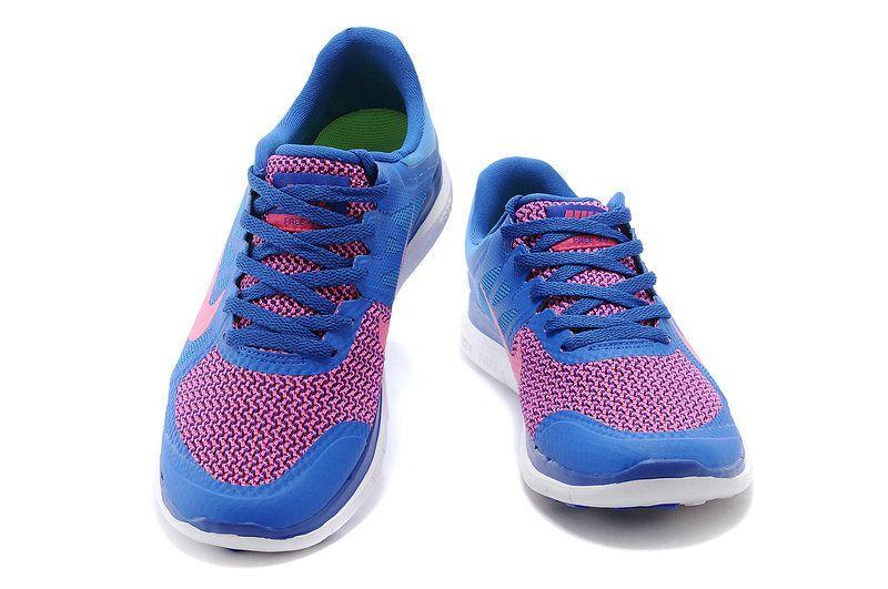 low priced 63b94 c81e7 Women Nike Free 4.0 V4 Hyper Cobalt Royal Fushcia 642200 200