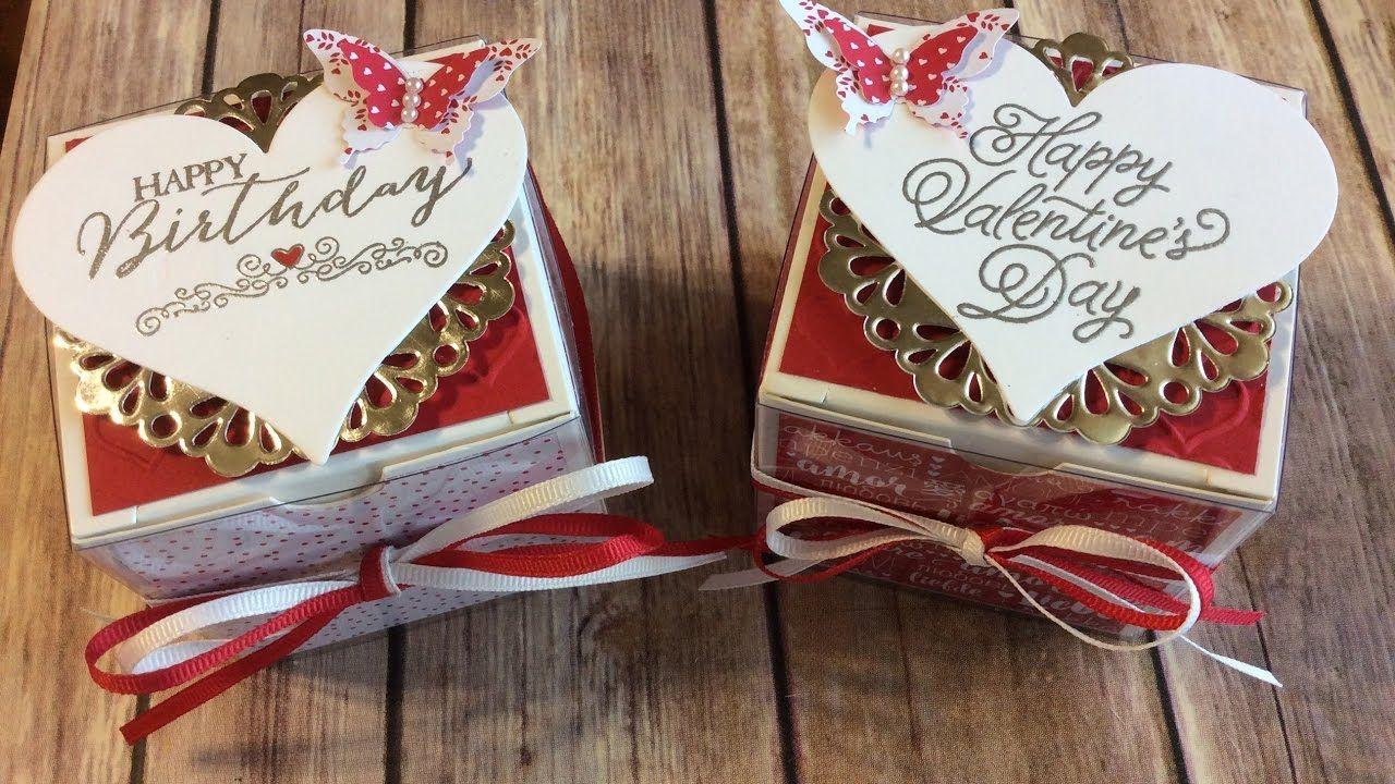 Stampin' Up! Birthday Gift Box Stampin up, Happy