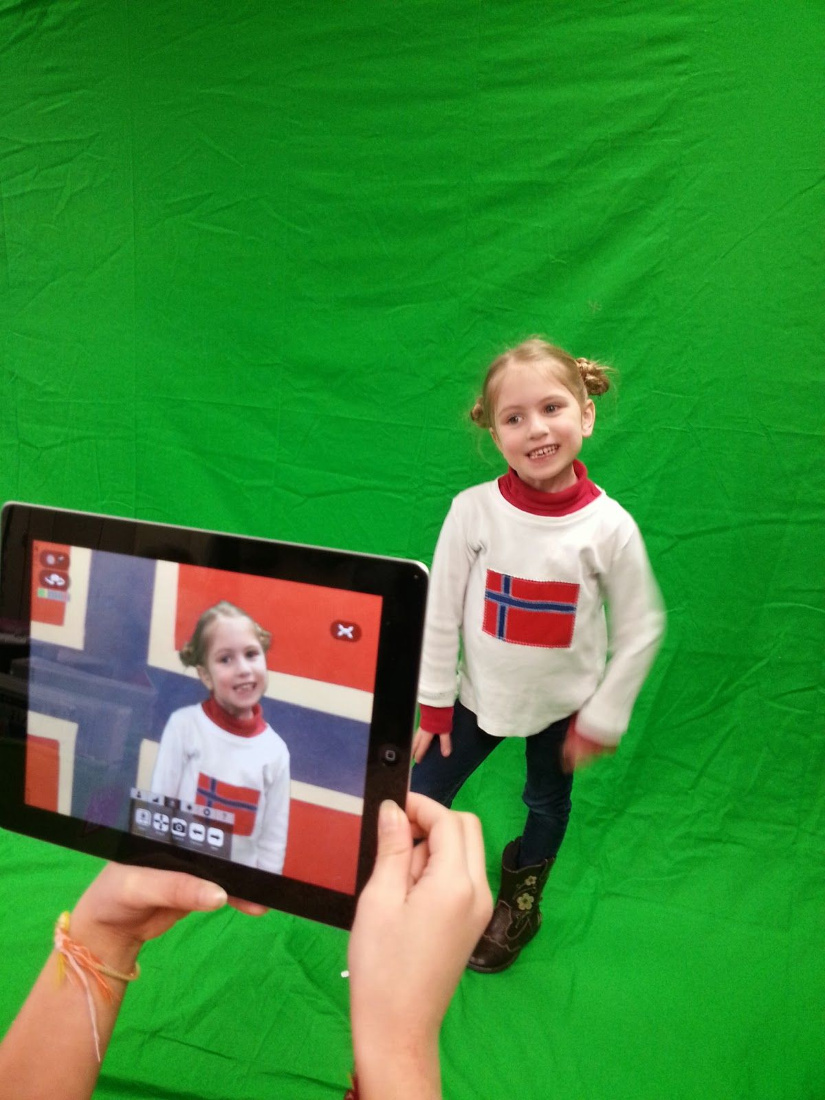 First Grade Funtastic: Green Screen Fun + a Winter Olympics Freebie ...