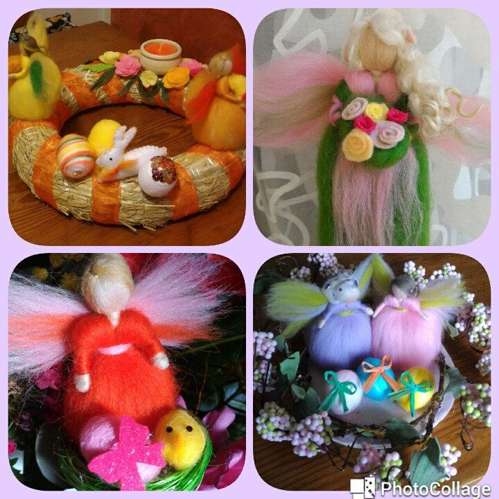 Tante idee x Pasqua....portate la primavera nelle vostre case