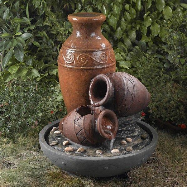 Water Fountain Terracotta Pots Google Search