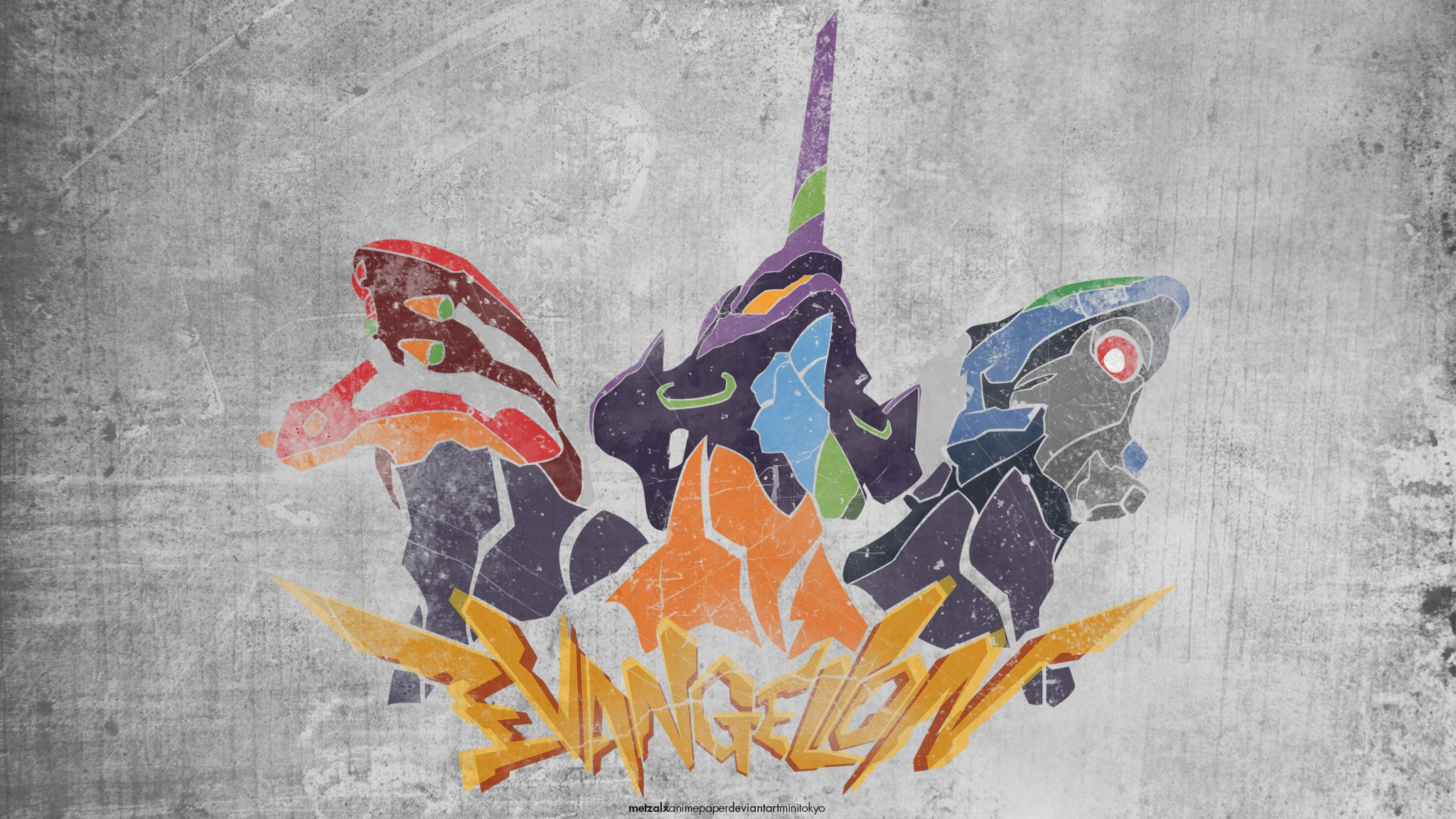 Neon Genesis Evangelion Wallpaper by metzalx Wallpapers