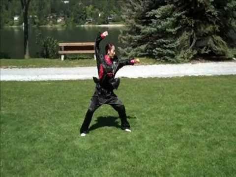 Shaolin Kung Fu Beginner | Beginner Kung Fu Form - YouTube