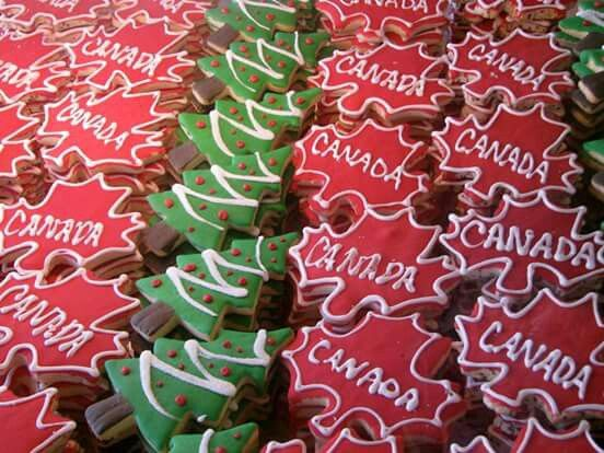 Christmas Cookies Canada Style Proud Canadian Canadian Christmas