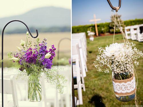 Shepherd Hook Ideas | Wedding Tips and Inspiration