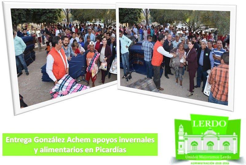 Para apoyar a los ciudadanos de las comunidades rurales a disminuir los efectos de las bajas temperaturas, la presidenta Municipal de...