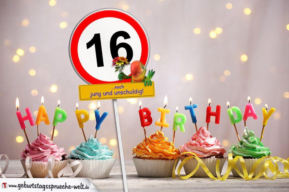 Geburtstagswunsche Zum 16 Inspirational 16 Geburtstag