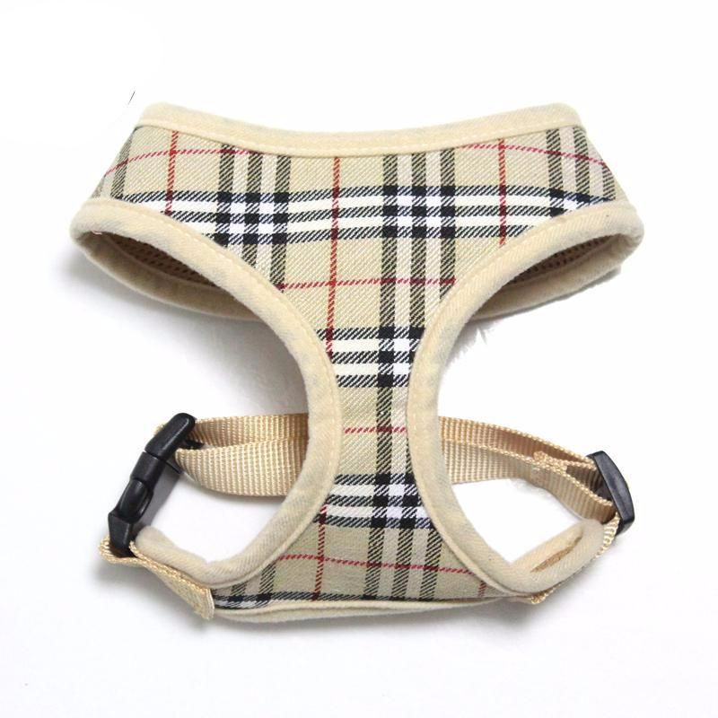 This Burberry Pattern Dog Harness Has To Be The Most Stylish