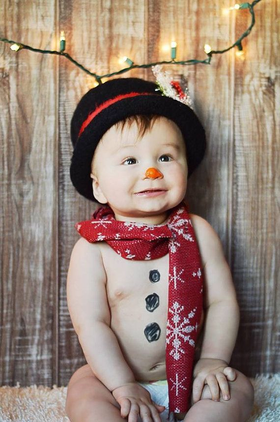 Snowman felted top hat~Felted Newborn Hat ~Top Hat~Knit and felted ...