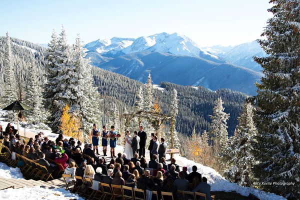 The Little Nell, Aspen Colorado (Ceremony at the Wedding