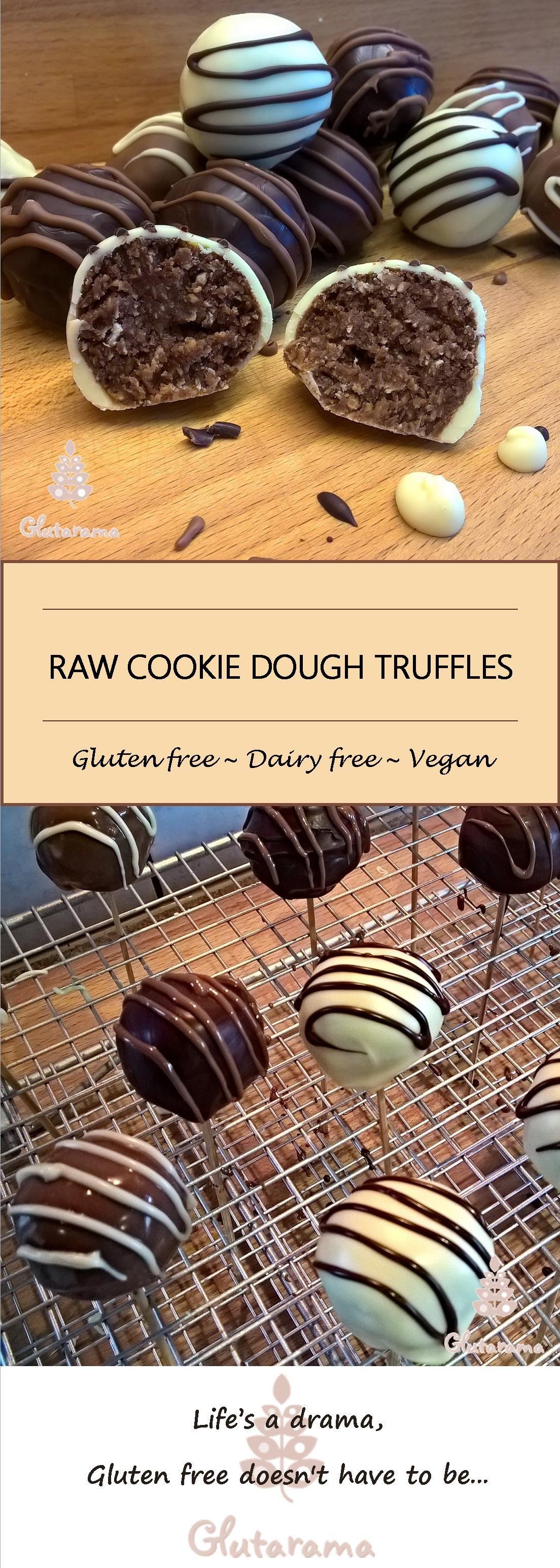Gluten Free Raw Truffles (Cake Pops) Recipe Dairy free