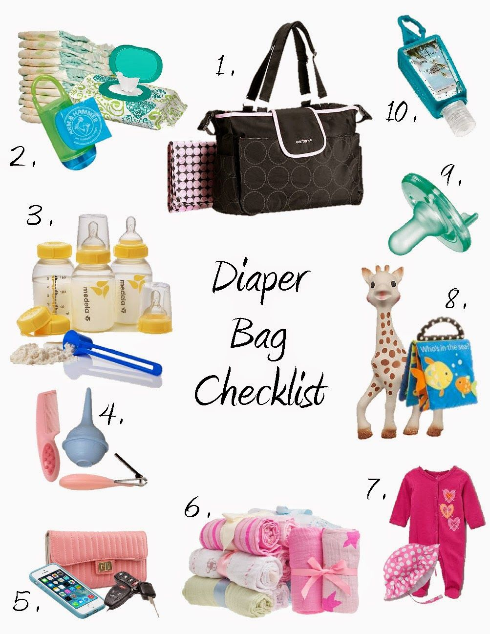 785f53f6cbba Baby Supplies Checklist for First-Time Parents