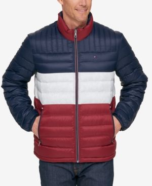 117879bf Men's Down Quilted Packable Logo Jacket | Products | Jackets, Tommy ...