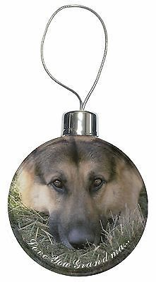German shepherd #'love you grandma' #hanging #bauble decoration gift, ad-g43lygcb,  View more on the LINK: http://www.zeppy.io/product/gb/2/400603608372/