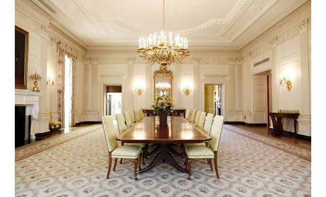 transform white house state dining room charming the february