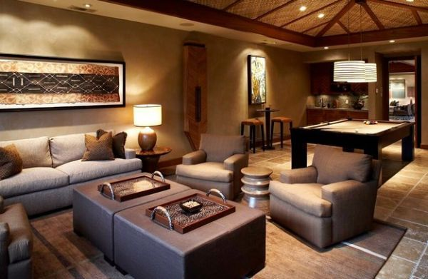 Indulge Your Playful Spirit With These Game Room Ideas African