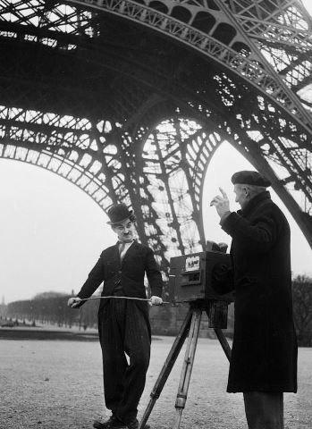 Charlie Chaplin in Paris