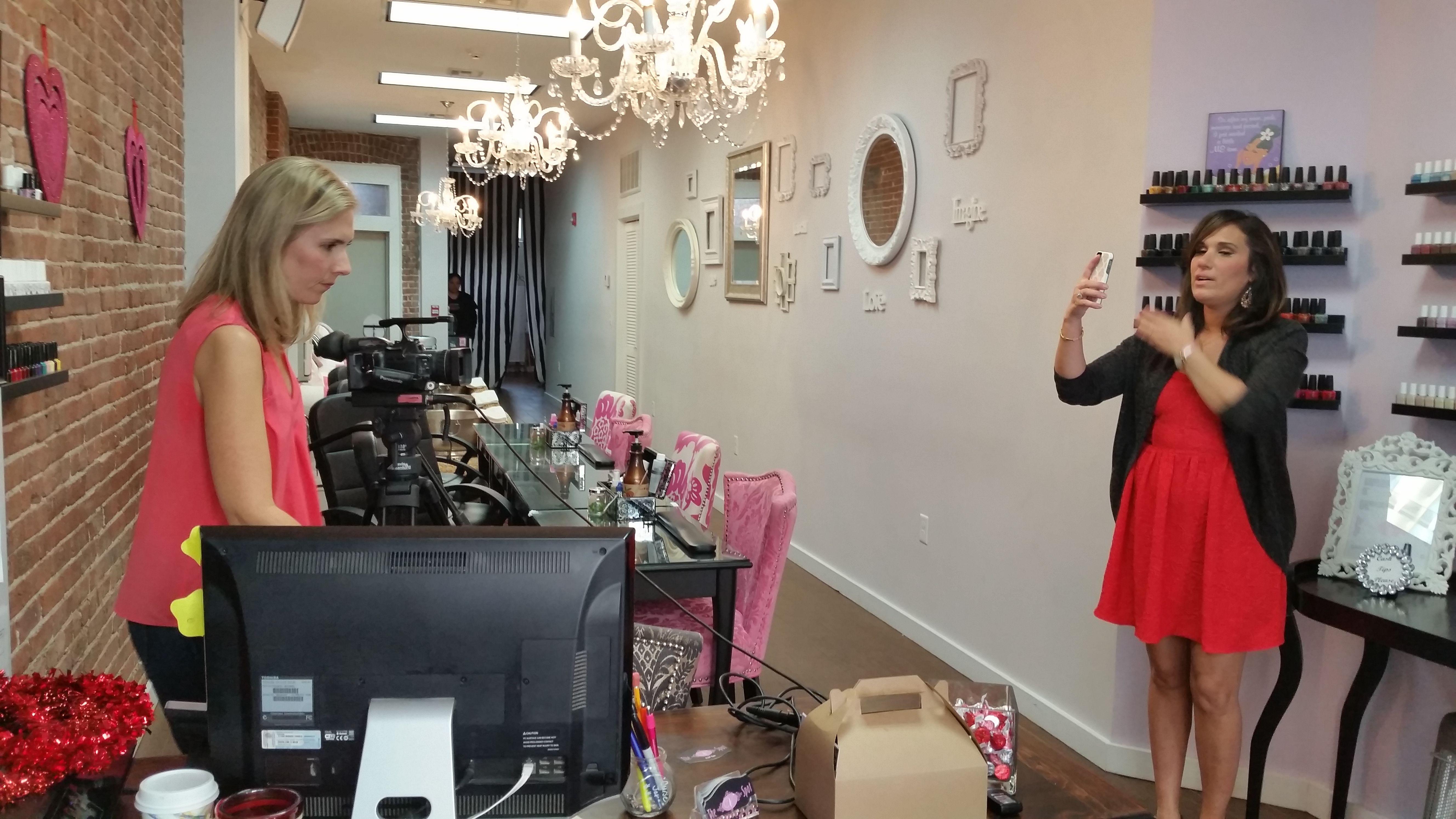 The Daily Fashionista at The V Spot Nail Spa Hoboken NJ