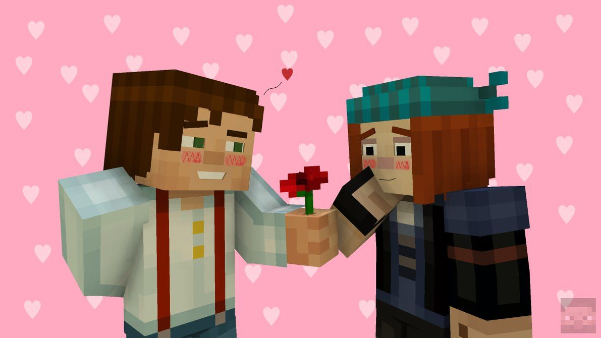 And Petra Are In Love Minecraft Story Mrsolde